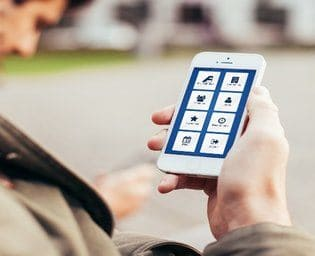 Mobile app for business consultant