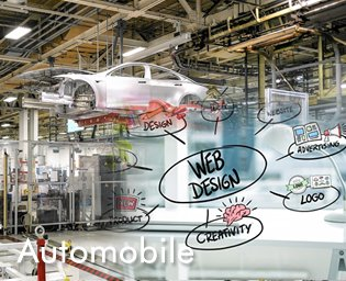 web design and development for automobile industry