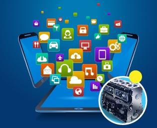iPad App Development for Diesel Engine Rebuilder